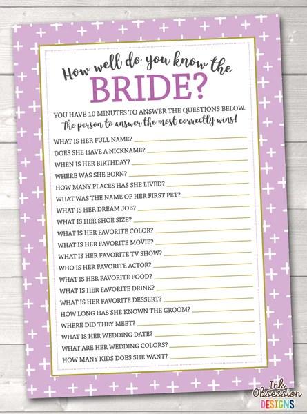 Bridal Shower Invitations Pdf