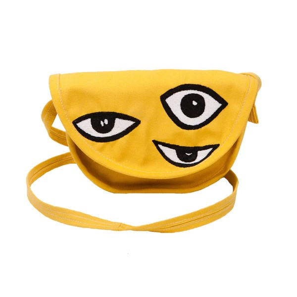 Eyeball Embroidered Cross-body  Bag