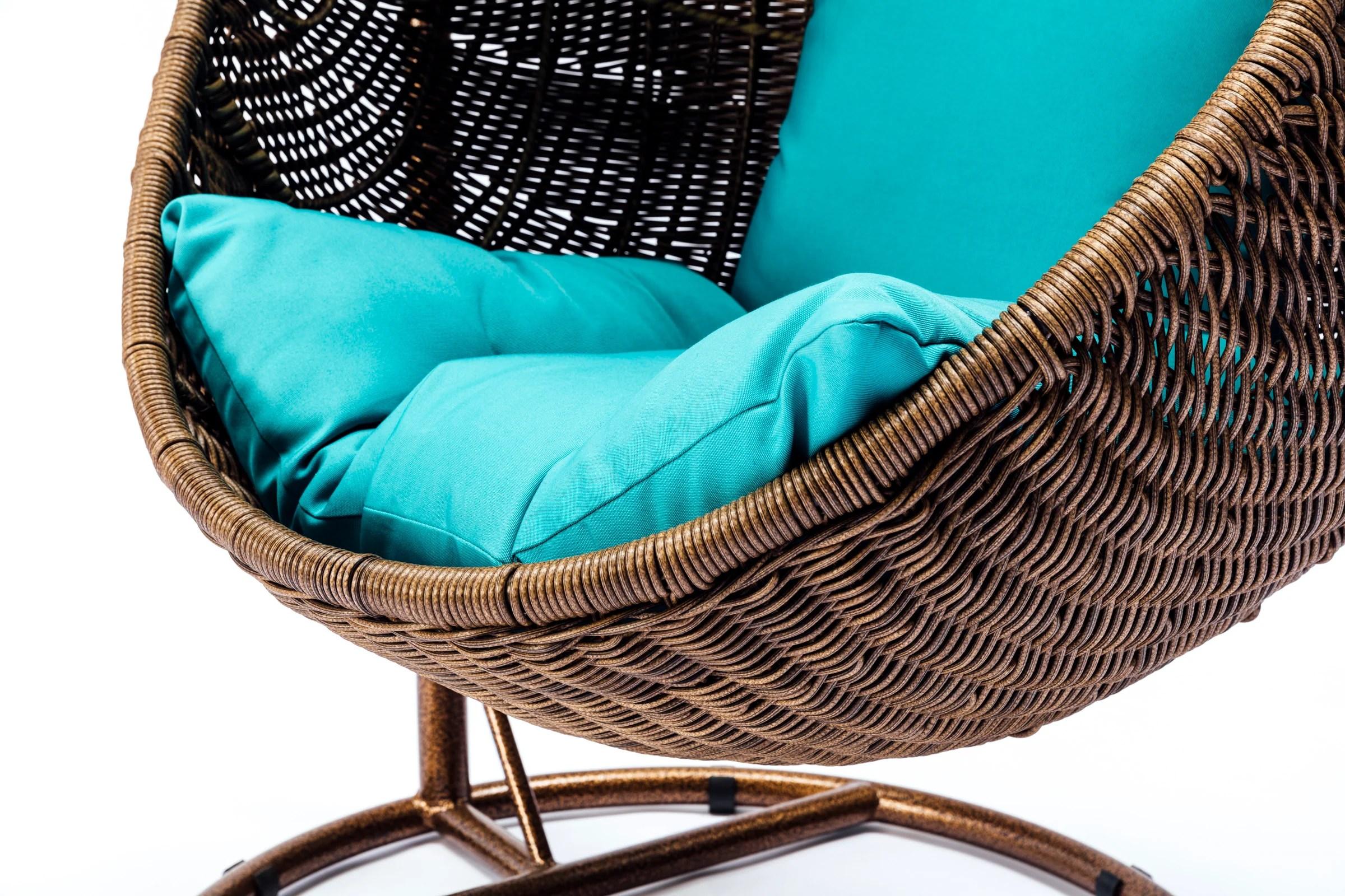 Ansan Outdoor Furniture - Wicker Egg Swing Chair