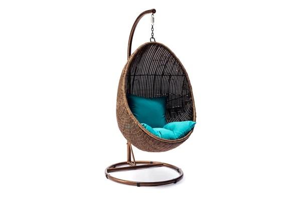 Ansan Outdoor Furniture  Wicker Egg Swing Chair
