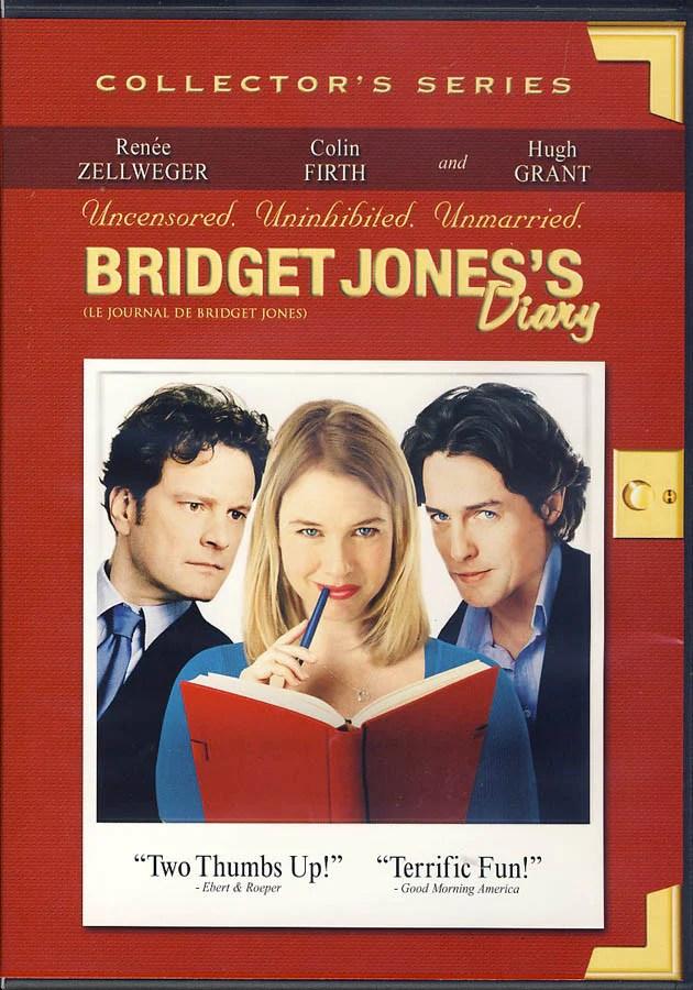 Le Journal De Bridget Jones 1 : journal, bridget, jones, Bridget, Jones, Diary, (Collector, Series), (Bilingual), Movie