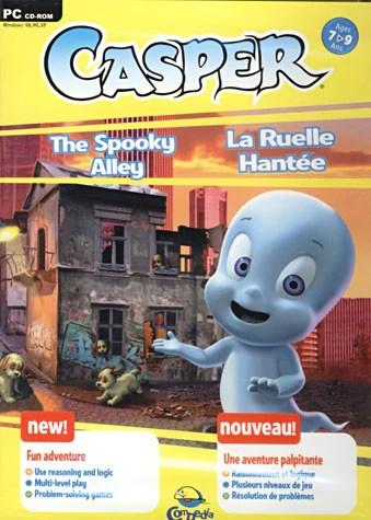 casper the spooky alley