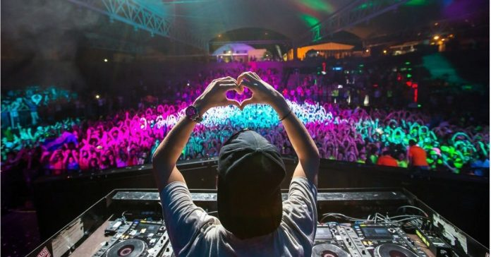 EDM shows attract thousands of fans.