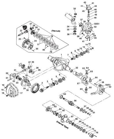 2004 Dodge Ram 1500 Front Differential Diagram : dodge, front, differential, diagram, Parts