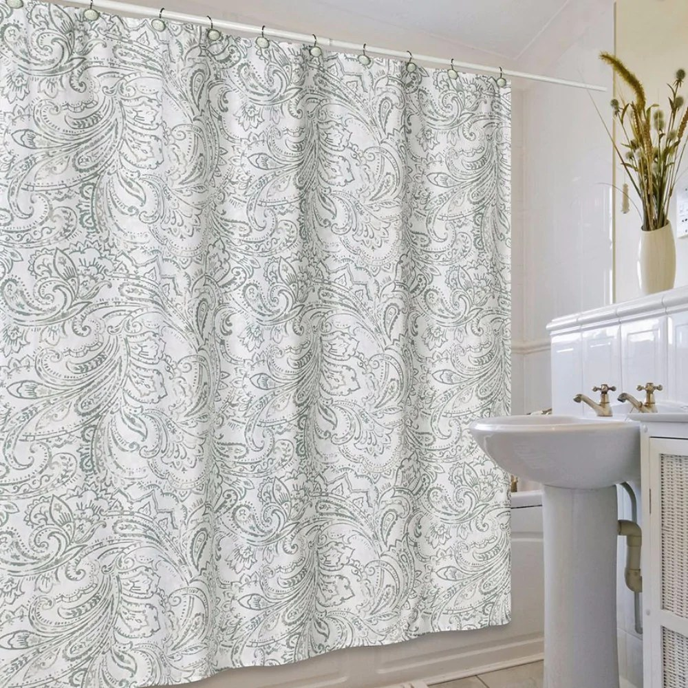 How Much Fabric Needed For A Shower Curtain Savae Org