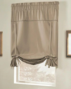 Tie Up Shades  Balloon Curtains