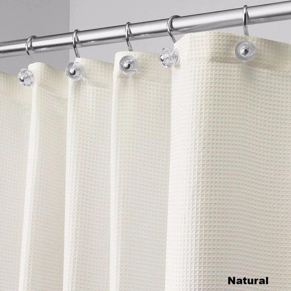 carlton fabric shower curtain standard 108