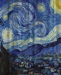 The Starry Night Shower Curtain By Vincent van Gogh ...