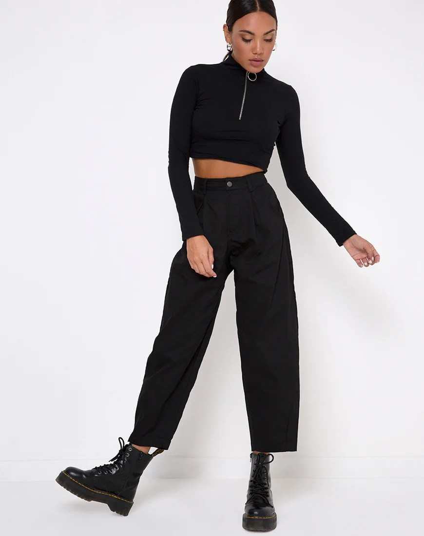 Bogo Pants in Black by Motel 9