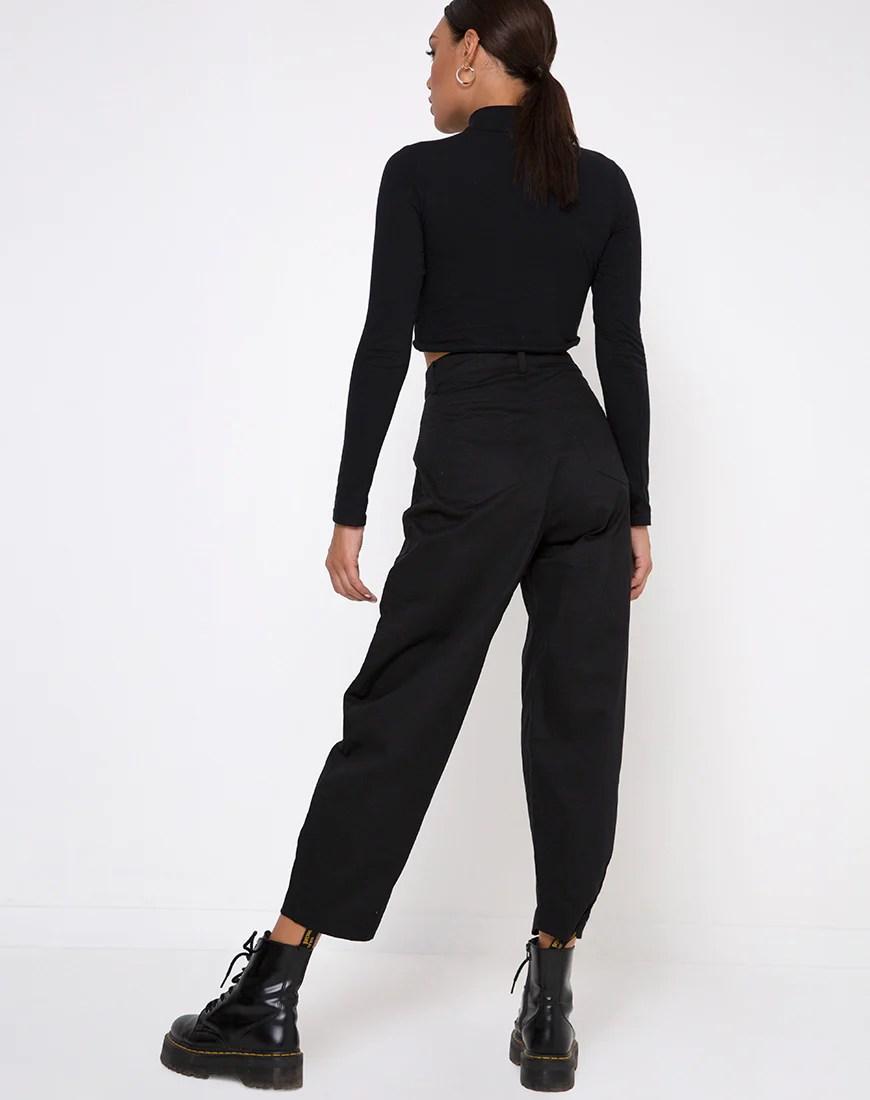 Bogo Pants in Black by Motel