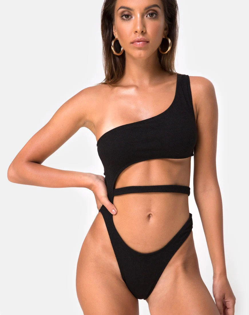 Vixie Swimsuit in Black by Motel 5
