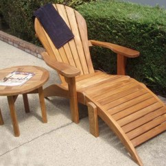 Cushions For Teak Steamer Chairs Chair Cover Rentals Burlington Ontario Adirondack With Ottoman | Free Shipping