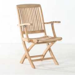 Teak Folding Chair Dining Room Covers Ideas Chairs For Patio Gardens Classic Cambria Arm