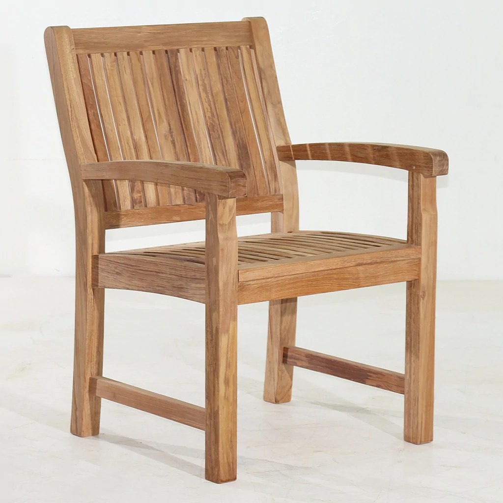 teak shower chairs with arms retro diner table and uk marley arm chair