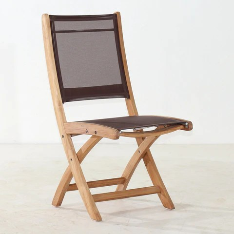 teak folding chair girls desk and chairs for patio gardens classic batyline side