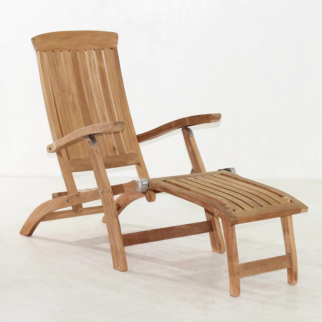 teak steamer chair cat hammock under diy titanic