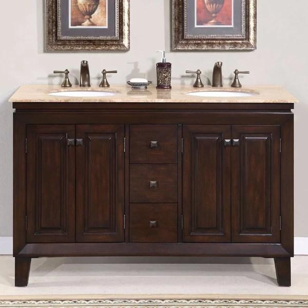 silkroad exclusive 55 jessica double sink vanity set hyp 0208 t uwc bath vanity plus