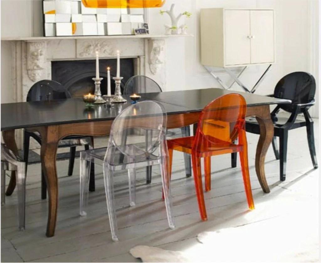 SUMMER SALE Kartell Victoria Ghost Chair 14535