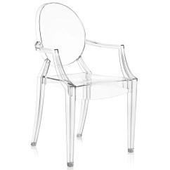 Philippe Starck Ghost Chair Silver Covers Wedding Kartell Louis  Buy Online At Decorelo Www