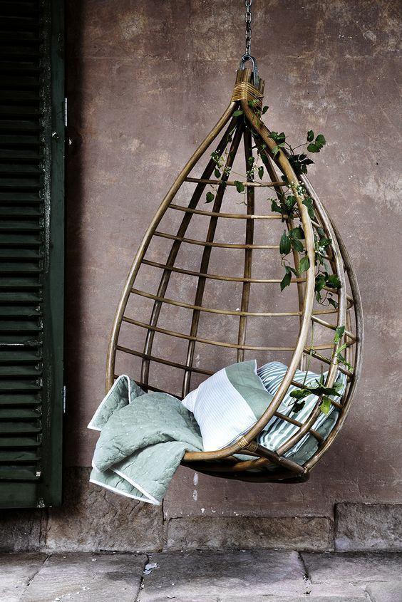 hanging garden pod chair uk fancy desk chairs buy broste copenhagen lot rattan | decorelo – www.decorelo.co.uk