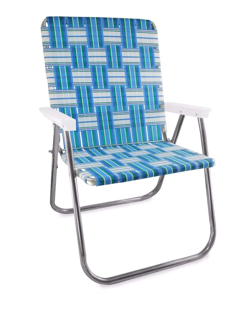 lawn chairs usa chair cover hire dunfermline magnum sea island folding aluminum webbing