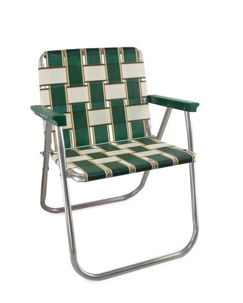 Lawn Chair USA  Charleston Folding Aluminum Webbing Chair