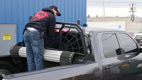 tonneau or tool box bed rails