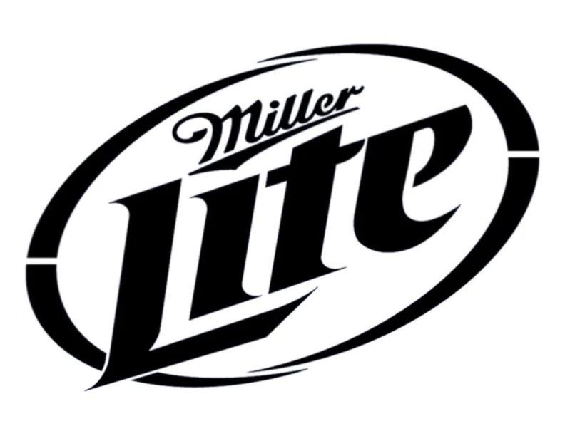 Miller Lite Custom Stencil My Custom Stencils
