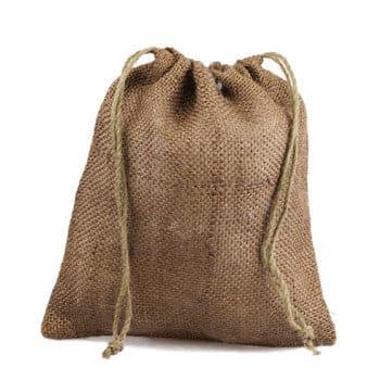 Color Burlap Bags