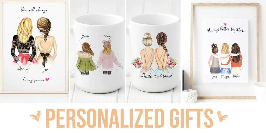 5 Awesome Personalized Gifts For Your Best Friends Glacelis