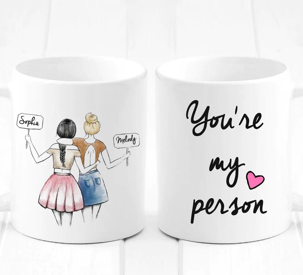 Gift Ideas For Girlfriend Unique Friendship Gift Mug