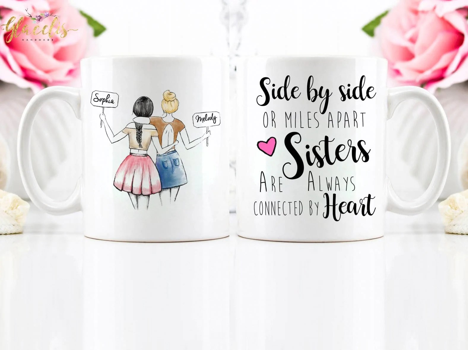 Birthday Present For Best Friend Personalized Mug For