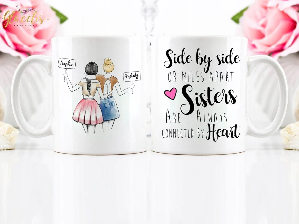 Gift Ideas For Girlfriend Unique Friendship Gift Mug