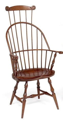 windsor chair with arms ikea hanging kids reproduction chairs the federalist bow back arm fsw 7