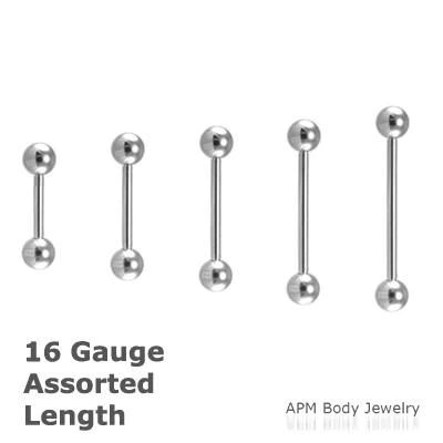 wholesale body jewelry 16g