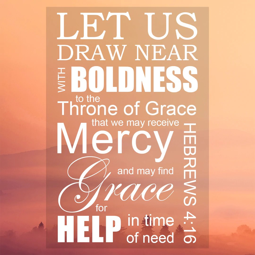 Image result for Hebrews 4 16