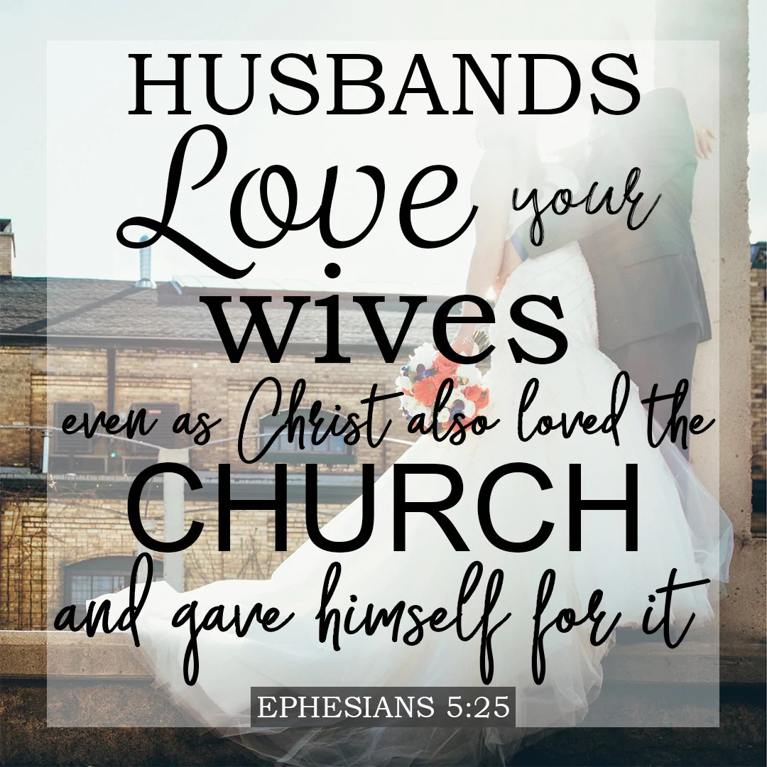 ephesians 5 25 husbands