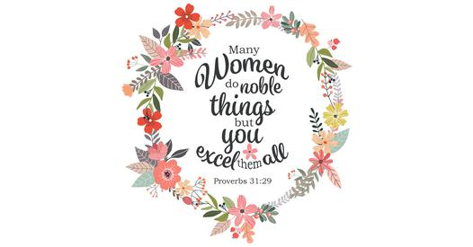 Christian Inspirational Wallpapers With Quotes Proverbs 31 29 You Excel Them All Free Bible Verse Art