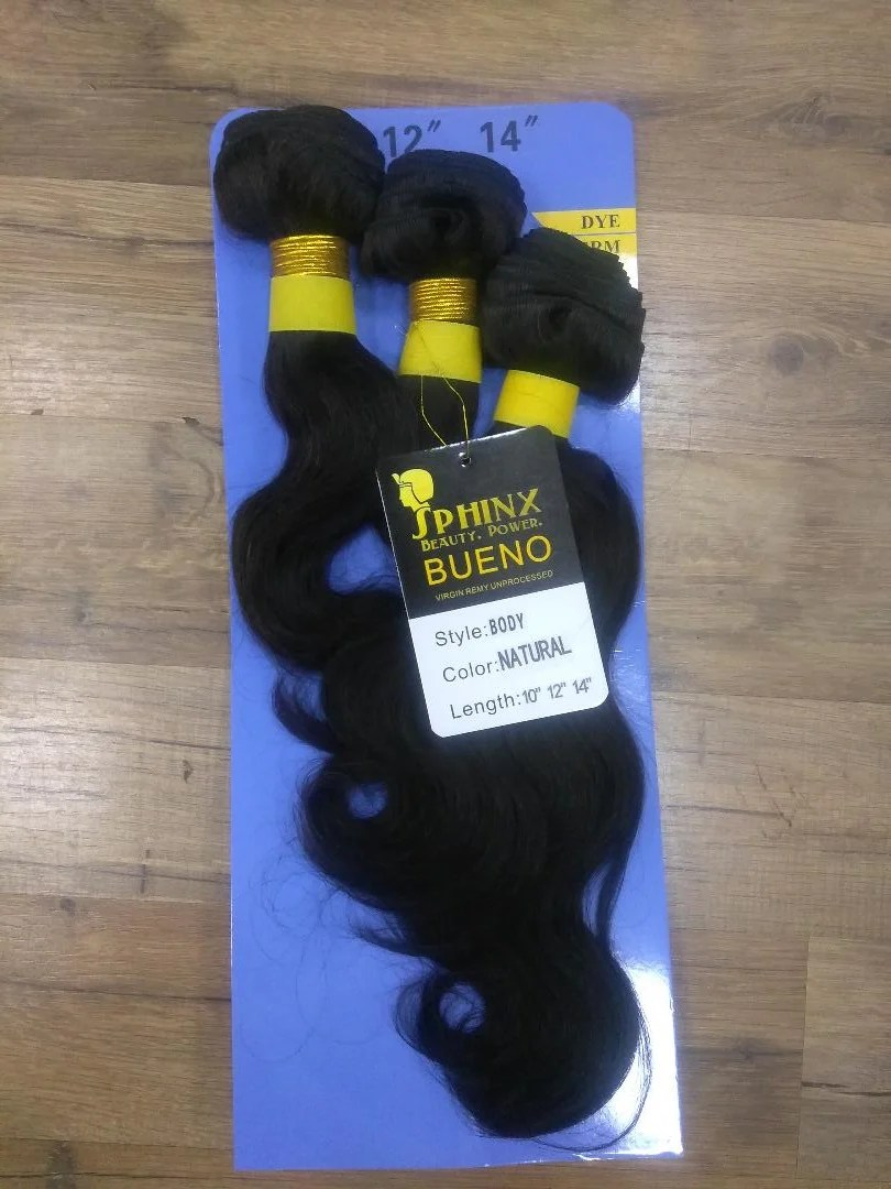 bueno virgin remy hair