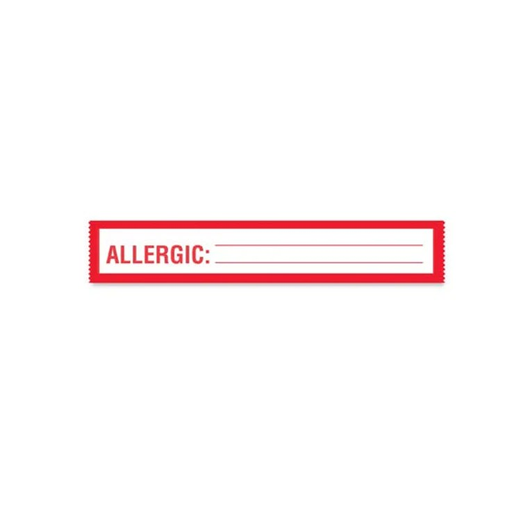 Patient chart allergic label tape also medical labels ceilblue rh