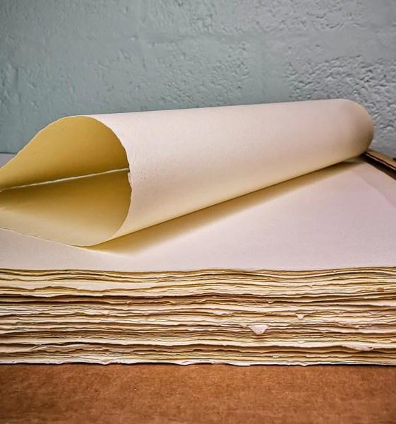 british handmade imitation parchment