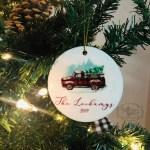 Vintage Truck Christmas 2020 Red Plaid Christmas Trees Sentiments Of Grace Llc