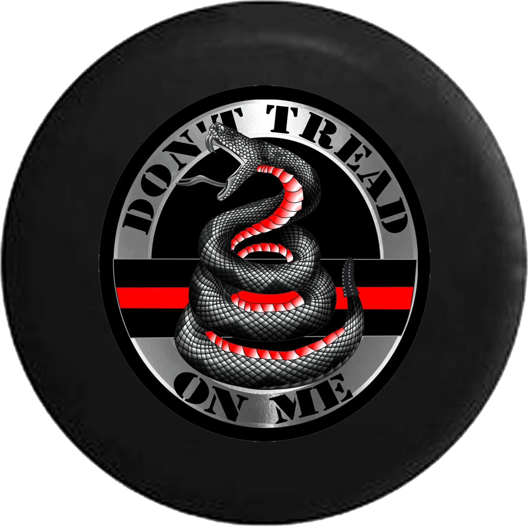 medium resolution of jeep wrangler tire cover with don t tread on me snake tire cover pro tirecoverpro