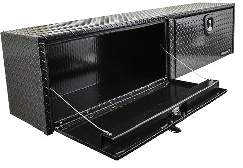 Buyers Products Topside Aluminum Truck Toolbox with 2