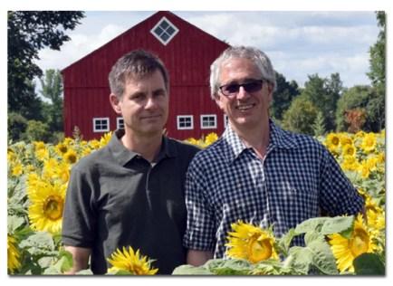 Dale Horeczy and Brad Daily of Kricklewood Farm