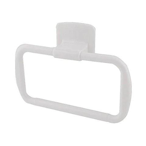 Hokipo Self Adhesive Plastic Kitchen Bathroom Towel Napkin Holder Sta Helmet Don