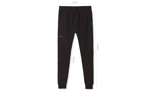Men   jogger pants size guide by bylt premium basics also rh byltbasics