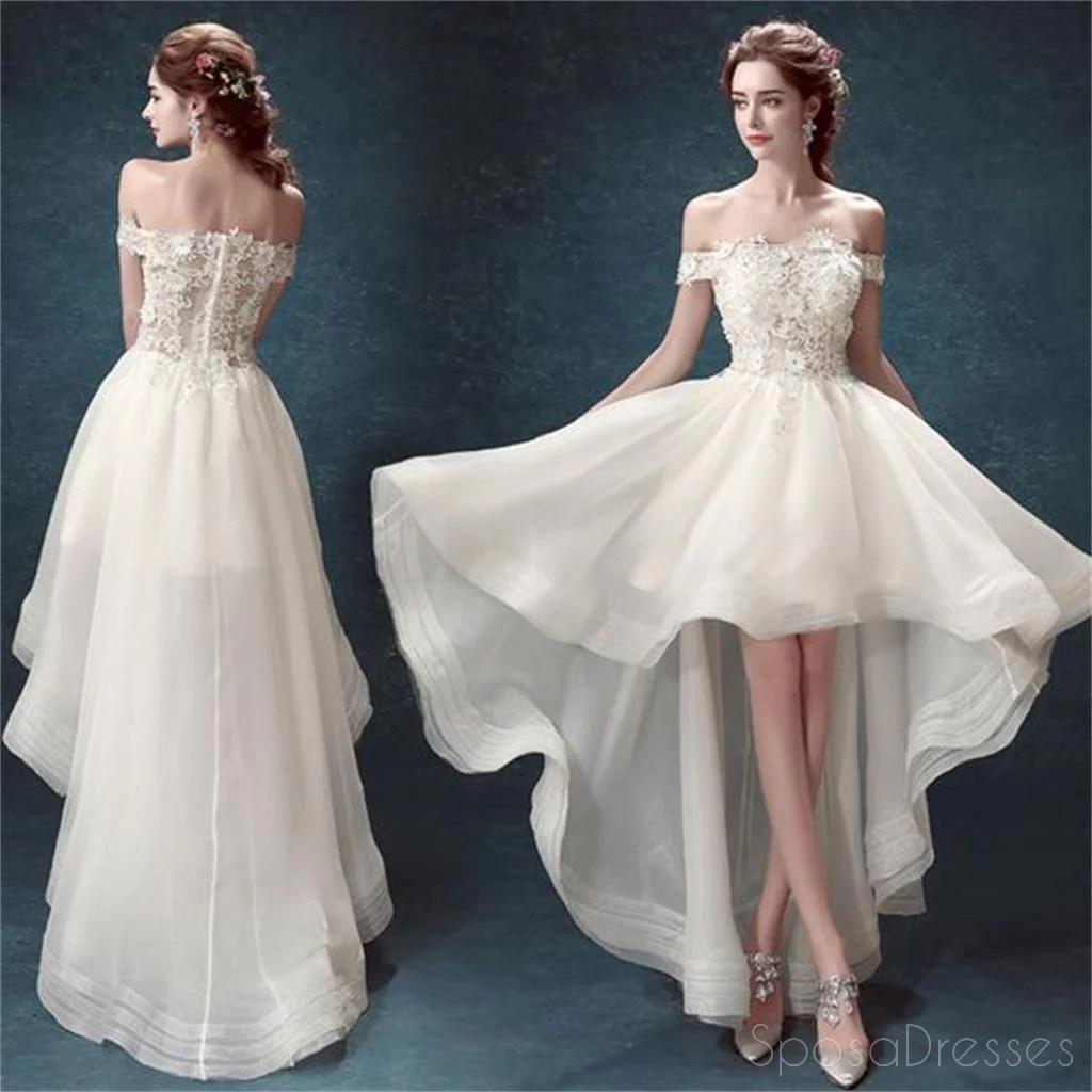 Wedding Dresses Short in Front Long in Back