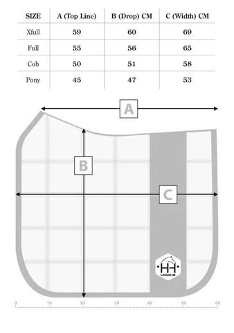 Hh unique dressage cut saddle pad dimensions also size  shipping guide horzehoods rh