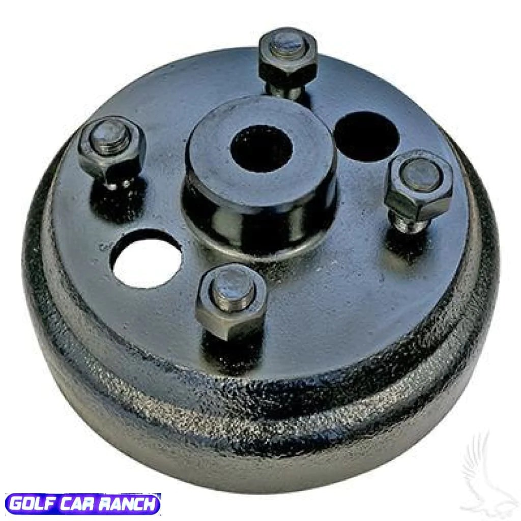 small resolution of brake drum e z go electric 82 up gas 2 cyc 82 93 standard oem golf car ranch
